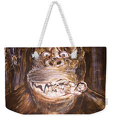King Kong - Deleted Scene - Kong With Native Weekender Tote Bag