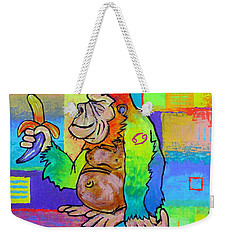 King Konrad The Monkey Weekender Tote Bag