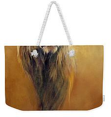 King Leo Weekender Tote Bag by Odile Kidd
