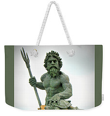 King Neptune Statue Weekender Tote Bag