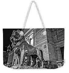 King Of Art Weekender Tote Bag