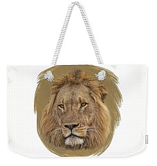King Of Beasts 6 Weekender Tote Bag