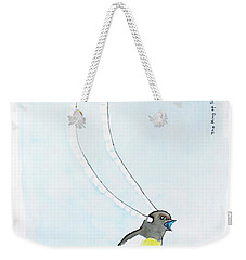 King Of Saxony Bird Of Paradise Weekender Tote Bag by Keshava Shukla