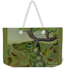 King Of The Forest Weekender Tote Bag