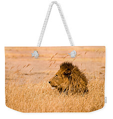 King Of The Pride Weekender Tote Bag