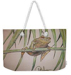 King Of The Reed Weekender Tote Bag