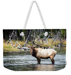 King Of The River Weekender Tote Bag