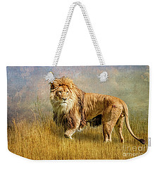 King Of The Serengeti Weekender Tote Bag