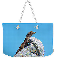 King Of The World Weekender Tote Bag by Kenneth Albin