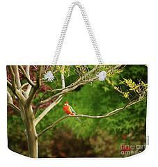 King Parrot Weekender Tote Bag by Cassandra Buckley