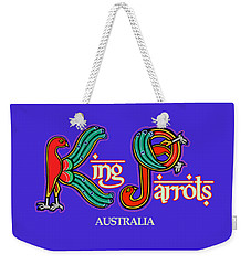 King Parrots Australia Weekender Tote Bag