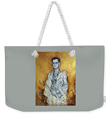 King Phumiphol Weekender Tote Bag by Chonkhet Phanwichien