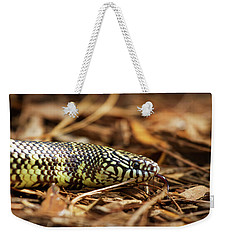 King Snake 2 Weekender Tote Bag