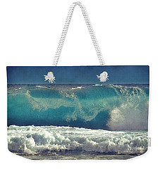 King Tide Wave Weekender Tote Bag