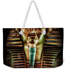 King Tut  Weekender Tote Bag by Elaine Malott