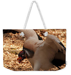 Weekender Tote Bag featuring the photograph King Vulture 1 by Chris Flees