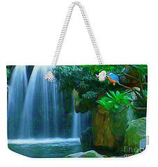 Kingfisher Falls Weekender Tote Bag