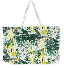 Kingfisher Weekender Tote Bag by Jacqueline Colley