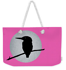 Kingfisher Weekender Tote Bag by Mark Rogan