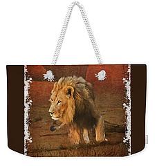 King_of_thejungle Weekender Tote Bag
