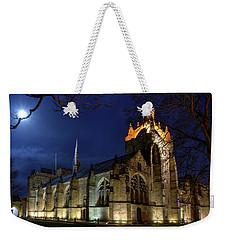 King's College In The Moonlight Weekender Tote Bag