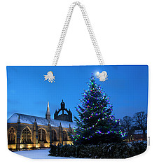 King's College In The Snow Weekender Tote Bag