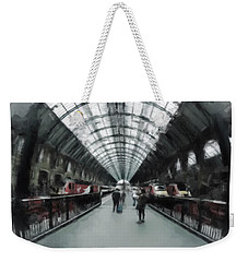 Kings Cross London Weekender Tote Bag