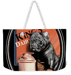 King's Dairy  Weekender Tote Bag