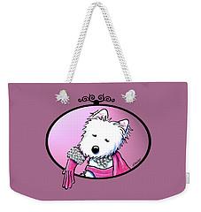 Kiniart Westie Glam Weekender Tote Bag