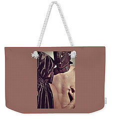 Kinky Play Man And Woman Weekender Tote Bag