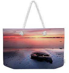 Kintyre Rocky Sunset 5 Weekender Tote Bag