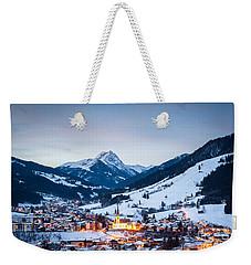 Kirchberg Austria In The Evening Weekender Tote Bag