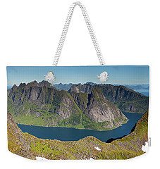 Kirkefjord View From Munken Weekender Tote Bag