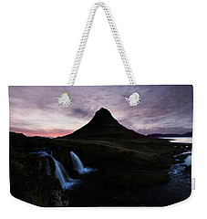 Kirkjufell Mountain Weekender Tote Bag