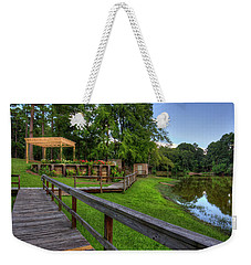 Weekender Tote Bag featuring the photograph Kiroli Park View by Ester Rogers