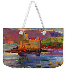 Kisimul Castle And Vatersay Weekender Tote Bag by Peter Graham