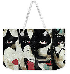 Kiss Art Print Weekender Tote Bag