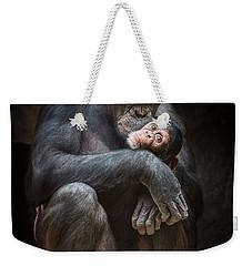 Kiss From Mom Weekender Tote Bag by Jamie Pham