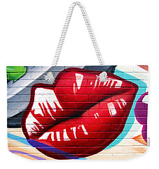 Kiss Me Now ... Weekender Tote Bag