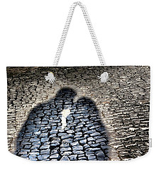 Kiss Me On The Cobblestone Weekender Tote Bag
