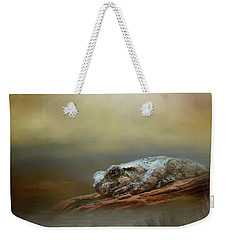 Weekender Tote Bag featuring the photograph Kiss Me by Steven Richardson