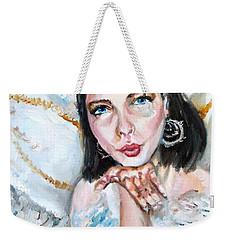 Kiss Of An Angel Weekender Tote Bag by Shana Rowe Jackson