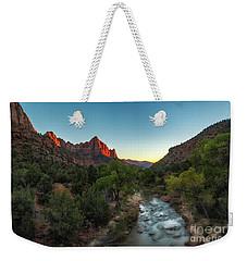 Kiss Of Light Weekender Tote Bag