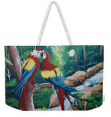 Kiss On The Forest Weekender Tote Bag