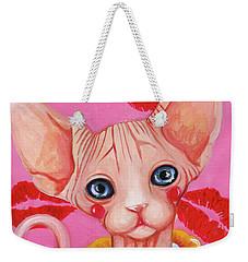 Kiss Sphynx Weekender Tote Bag