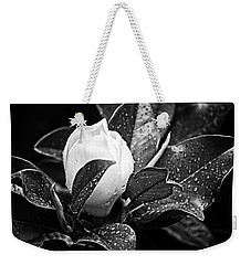 Kissed By Rain Weekender Tote Bag by Carolyn Marshall