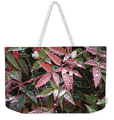 Kissed With Moisture Weekender Tote Bag