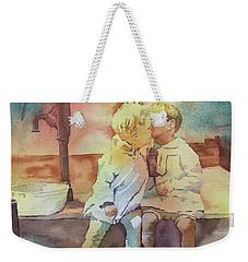Kissing Cousins Weekender Tote Bag