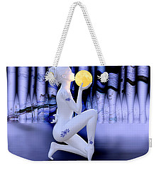 Kissing The Moon Weekender Tote Bag