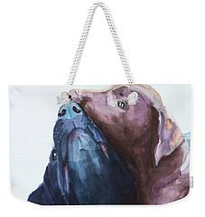 Kiss,nip Weekender Tote Bag
